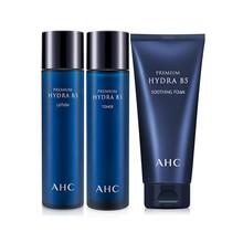 A.H.C B5玻尿酸保湿护肤三件套(爽肤水120ml+乳液120ml+洁面乳180ml)
