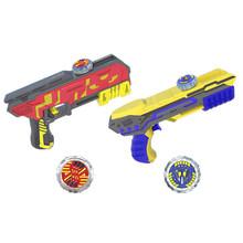 灵动创想 魔幻陀螺4代之聚能引擎发光梦幻陀螺枪儿童男孩玩具 豪华单核聚能套装