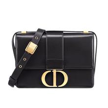 Dior 迪奥 30 MONTAIGNE牛皮革手袋 黑色