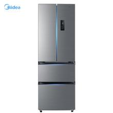 美的(Midea)BCD-323WTPM(E) 323升 双变频节能一级能效 风冷无霜 铂金净味家用省电多门电冰箱